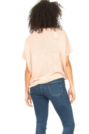 Blaumax |  Linen sweater Ivy | pink  | Picture 7