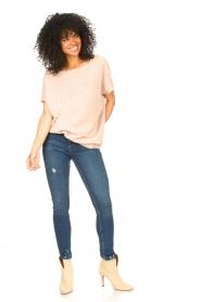 Blaumax |  Linen sweater Ivy | pink  | Picture 3