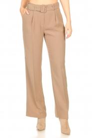 Dante 6 |  Wide leg trousers Abella | camel  | Picture 4