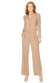Dante 6 |  Wide leg trousers Abella | camel  | Picture 2