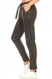 Dante 6    Paperbag jeans Bayard   black    Picture 5
