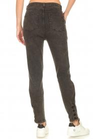 Dante 6    Paperbag jeans Bayard   black    Picture 6
