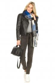 Dante 6    Paperbag jeans Bayard   black    Picture 2