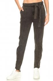 Dante 6    Paperbag jeans Bayard   black    Picture 4