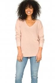 Blaumax |  Cotton sweater Ann | pink  | Picture 4