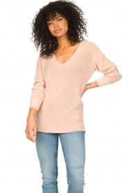 Blaumax |  Cotton sweater Ann | pink  | Picture 2
