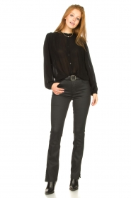 Dante 6    Pants with coating Melle   black    Picture 4