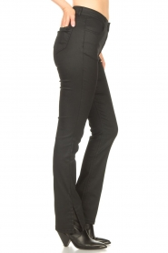 Dante 6    Pants with coating Melle   black    Picture 6