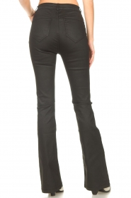 Dante 6 |  Flared pants with coating Billie | black  | Picture 6