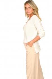 Blaumax |  Cotton sweater Ann | white  | Picture 5