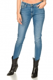 7 For All Mankind |  Cigarette leg jeans Pyper | light blue  | Picture 5