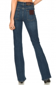 7 For All Mankind :  Bootcut jeans YR2000 | blauw - img7