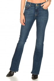 7 For All Mankind :  Bootcut jeans YR2000 | blauw - img5