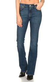 7 For All Mankind :  Bootcut jeans YR2000 | blauw - img4