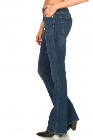 7 For All Mankind :  Bootcut jeans YR2000 | blauw - img6