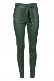 Dante 6 | Lamb leather pants Duran | green  | Picture 1