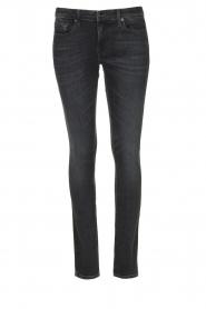 7 For All Mankind |  Cigarette leg jeans Pyper | black  | Picture 1