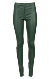 Dante 6 |  Lamb leather pants Campbell | green  | Picture 1