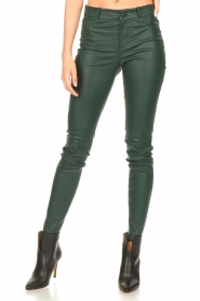 Dante 6 |  Lamb leather pants Campbell | green  | Picture 6