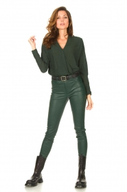 Dante 6 |  Lamb leather pants Campbell | green  | Picture 2