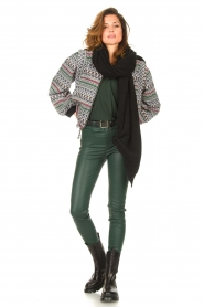 Dante 6 |  Lamb leather pants Campbell | green  | Picture 3