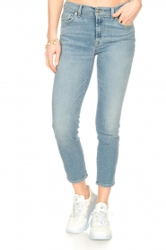 7 For All Mankind |  Skinny ankle jeans Roxanne | light blue  | Picture 4