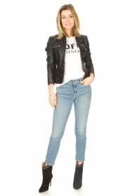7 For All Mankind |  Skinny ankle jeans Roxanne | light blue  | Picture 3
