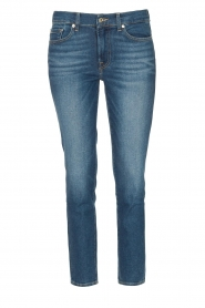 7 For All Mankind | Skinny enkel jeans Roxanne | blauw  | Afbeelding 1