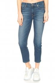7 For All Mankind | Skinny enkel jeans Roxanne | blauw  | Afbeelding 4