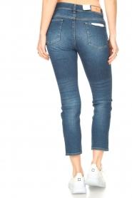 7 For All Mankind | Skinny enkel jeans Roxanne | blauw  | Afbeelding 6