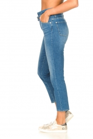 7 For All Mankind |  Slim paperbag jeans Myl | blue  | Picture 8