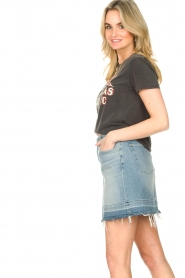 7 For All Mankind |  Denim skirt Seven | blue  | Picture 5