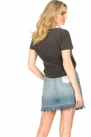 7 For All Mankind |  Denim skirt Seven | blue  | Picture 6