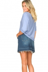 7 For All Mankind |  Denim skirt Janey | blauw  | Picture 6