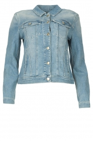 7 For All Mankind |  Denim jacket Josie | blue  | Picture 1