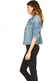 7 For All Mankind |  Denim jacket Josie | blue  | Picture 6