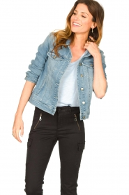 7 For All Mankind |  Denim jacket Josie | blue  | Picture 5