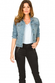 7 For All Mankind |  Denim jacket Josie | blue  | Picture 2