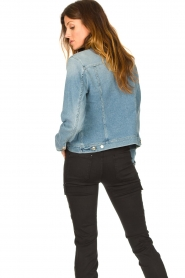 7 For All Mankind |  Denim jacket Josie | blue  | Picture 7