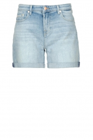 7 For All Mankind |  Denim boy shorts Jasmine | light blue  | Picture 1