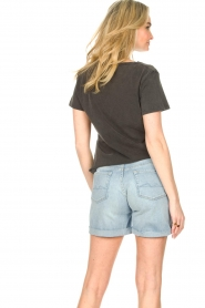 7 For All Mankind |  Denim boy shorts Jasmine | light blue  | Picture 7