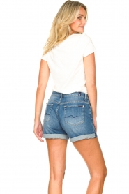 7 For All Mankind | Boyshort Jasmine | blauw   | Afbeelding 8