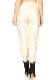 STUDIO AR BY ARMA |  Leather chino pants Nessa | natural  | Picture 10