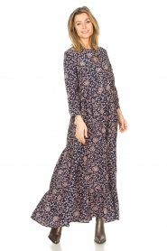 Lolly's Laundry |  Floral maxi dress Nee | blue  | Picture 2