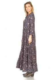 Lolly's Laundry |  Floral maxi dress Nee | blue  | Picture 5