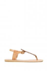 Laidback London |  Leather sandal Leni | silver  | Picture 3