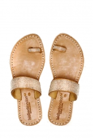 Laidback London |  Leather flip flop Trent | white  | Picture 1