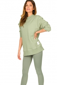 Lune Active |  Sweater Kylie | green  | Picture 2