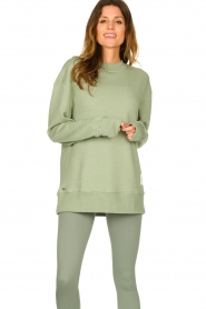 Lune Active |  Sweater Kylie | green  | Picture 5