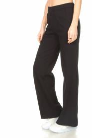 Lune Active |  Flared broek Camilla | black  | Picture 5